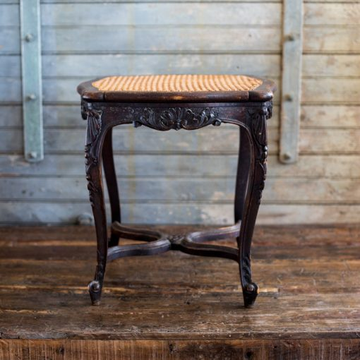 Astounding Late 1800S Hand Carved French Stool Side Table W Hand Theyellowbook Wood Chair Design Ideas Theyellowbookinfo